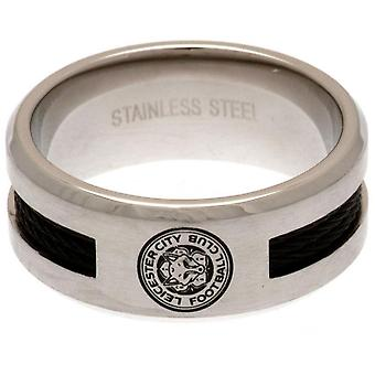 Leicester City FC Black Inlay Ring