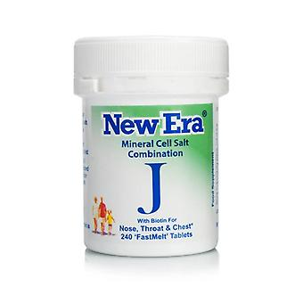 New Era, Combination J, 240 tablets