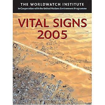 Vital Signs 2005 (vitala tecken: de miljömässiga tendenser som formar vår framtid (Häftad))