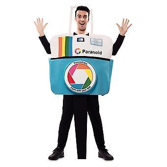 Camera costume paranoid camera costume Carnival adult