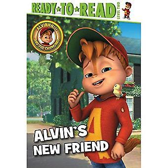 Novo amigo de Alvin (Alvinnn!!! e os esquilos)