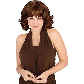Mollig schoonheid Bruine pruik voor vrouwen