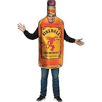 Fireball Adult Costume