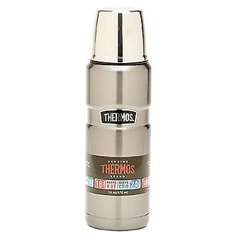 Thermos 470mL inox King vide isolé fiole