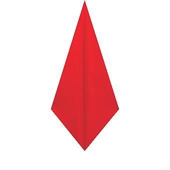 d/Spoke Mens Chilli Red Pocket Square Handkerchief Satin Feel Fabric Evening Partywear Accessory