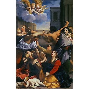 Le Massacre des Innocents, Guido Reni, 60x40cm