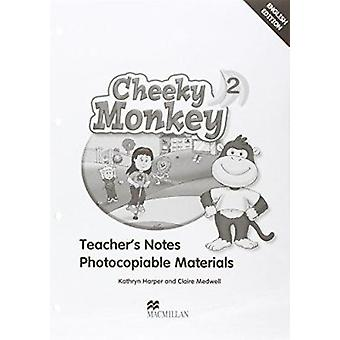 Cheeky Monkey 2 Teacher's Book by Kathryn Harper - Claire Medwell - 9