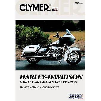 Harley Davidson Flh/Flt Twin Cam 88 & 103 1999-2005 (4th) by Clymer P