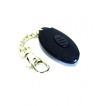 Yellowstone Mini LED Push Button Keyring Torch