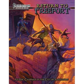 Return to Freeport An Adventure Series for the Pathfinder RPG Book