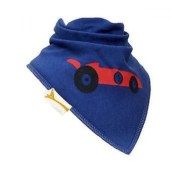 Blaue & rote Renn Auto Bandana Lätzchen