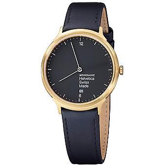 MH1-mundano Helvetica No1. L2221.lb-luz Unisex Watch