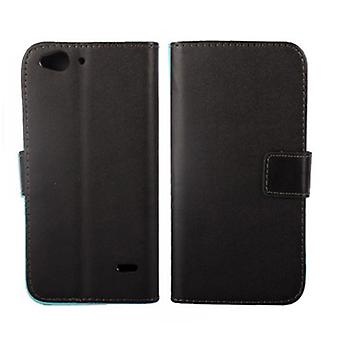Wallet Case ZTE Blade S6, Black