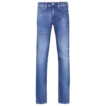 Edwin Ed-55 12uns CS Braxton blå denim Regular avsmalnande Birger tvätta jeans