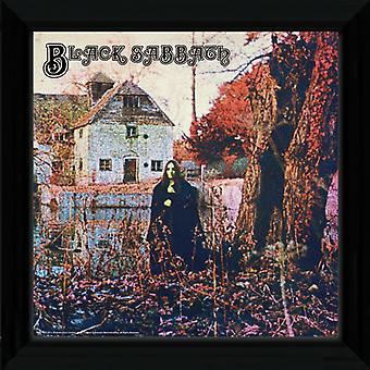 Black Sabbath inramade Album täcka Print 12x12in
