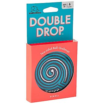 Spiele - Ceaco Brainwright - Double Drop Two-sided Ball Challenge New 8014