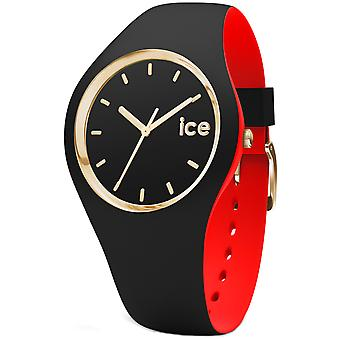 Ice loulou Quartz Analog Woman Watch with Silicone Bracelet IC007225