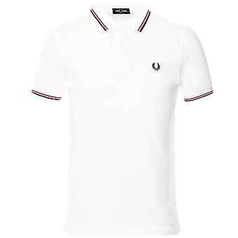 Fred Perry Twin Tipped Polo Camisa M3600 748