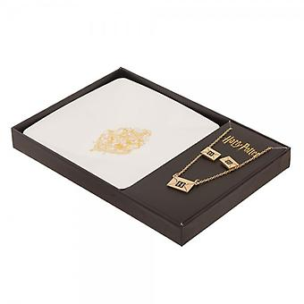 Necklace & Earring - Harry Potter - Crest Tray New js67ghhpt