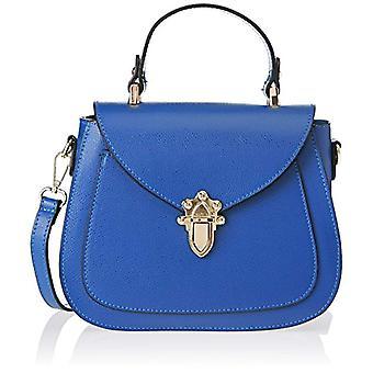 Good Bags 8833 Blue Women's handbag (Blue) 23x19x10 cm (W x H x L)