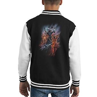 Alchemy Legion Of The Dead Kid's Varsity Jacket