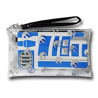 Star Wars R2D2 Clear Envelope 2-in-1 Wallet