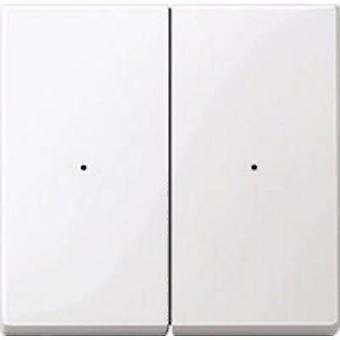 Merten Cover Dimmer System M, 1-M, M-Smart, M-Plan, M-Creativ Polar white glossy MEG5220-0319