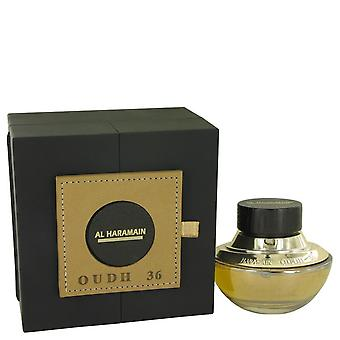 Oudh 36 eau de parfum spray (unisex) by al haramain 535888 75 ml