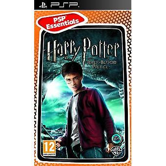 Harry Potter och Halvblodsprinsen PSP [PlayStation Portable]-fabriken förseglad
