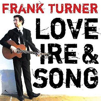 フランク ・ ターナー - 愛の怒り・歌 [ビニール] USA 輸入