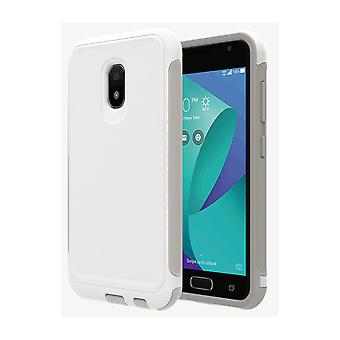 Verizon Extra Rugged Case for ASUS ZenFone V Live - White/Gray