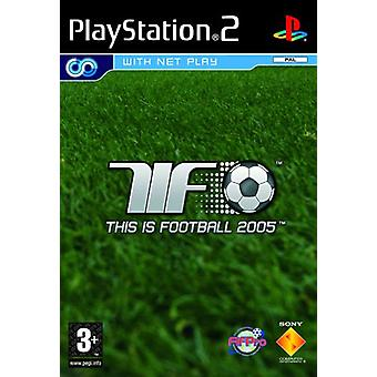 Dit is Football 2005 (PS2)-fabriek verzegeld