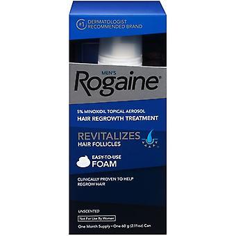 Men's Rogaine Hair Regrowth Treatment Foam (2.11 oz / 60 g)
