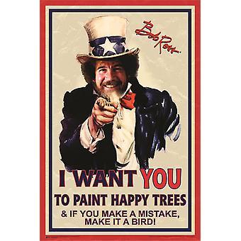Poster - Studio B - Uncle Bob Ross 36x24