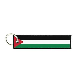 Port Cles Key Cle Homme Homme Fabric Brode Prints Palestinian Palestine Flag
