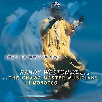Randy Weston - Spirit! Power of Music [CD] USA import