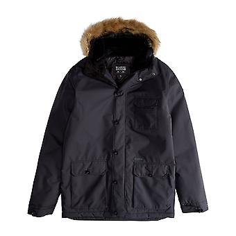 Billabong Bunker 10K ADIV Parka Jacket in Black