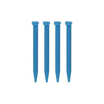 Slot in stylus for nintendo 2ds xl - replacement small touch screen pens  - 4 pack blue