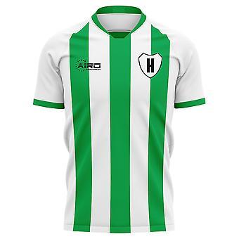2020-2021 Hammarby Home Concept Futbalové tričko