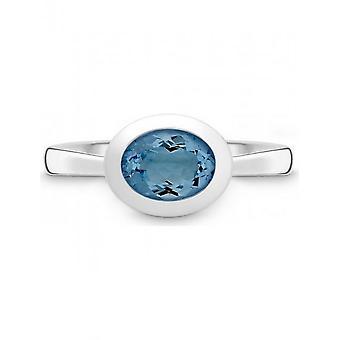 QUINN - Ring - Damen - Silber 925 - Weite 56 - 0214006582