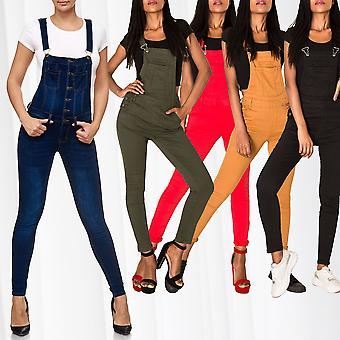 Women's Jeans Dungarees Skinny Boyfriend Bib Hip Jeans Pants Jumpsuit Overall