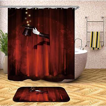 Goochelaar ' s badkamer douche gordijn