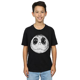 Disney Boys Nightmare Before Christmas Jack Moon Face T-Shirt