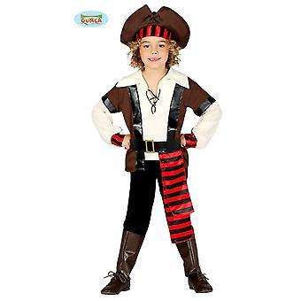 Guirca Wild Pirate Costume for Boys