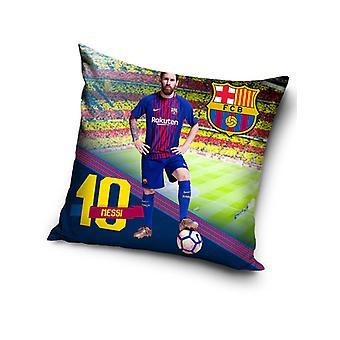 FC Barcelona Messi Stadium Filled Cushion