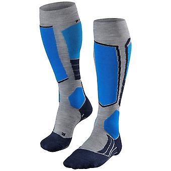 Falke skiløb 2 Knæhøje sokker-lysegrå