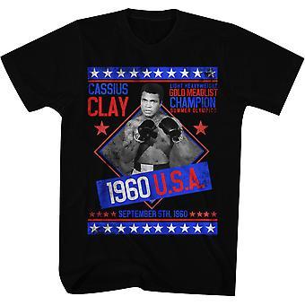 American Classics Cassius Clay Gold Medalist T-Shirt - Black