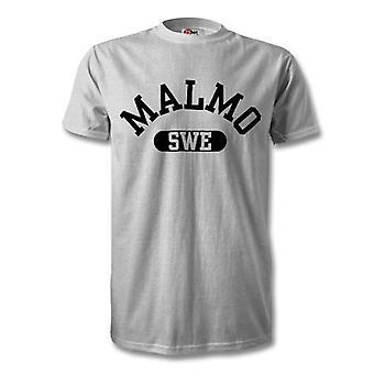 Camiseta de la ciudad de Malmo Suecia