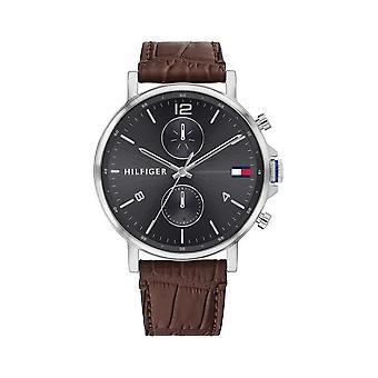 Tommy Hilfiger Wristwatch MEN's Mulit Function Day Weekday DANIEL 1710416