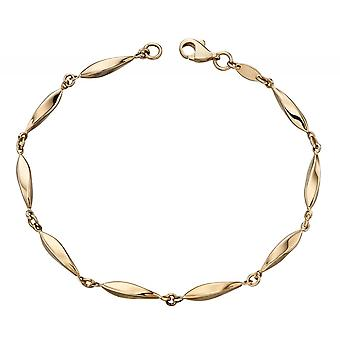 Joshua James Precious 9ct Yellow Gold Marquise Bracelet